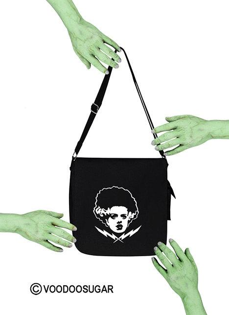 Bride Of Frankenstein Monster Messenger Bag