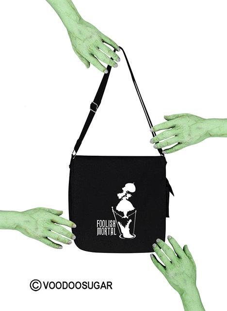 Haunted Mansion Foolish Mortal Messenger Bag