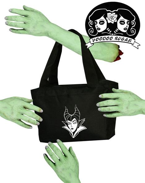 Maleficent Lunch Cooler Zipper Tote